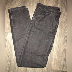 Balenciaga Jeans with ankle zippers